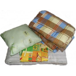 Комплект для строителей (матрас, одеяло, подушка)
