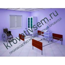 Металлическая кровать КМ-1