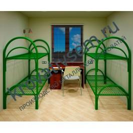 Металлическая кровать двухъярусная УК-2
