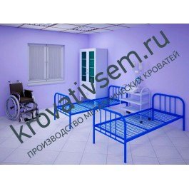 Металлическая кровать СБУ-3