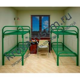 Металлическая кровать двухъярусная СБУ-2