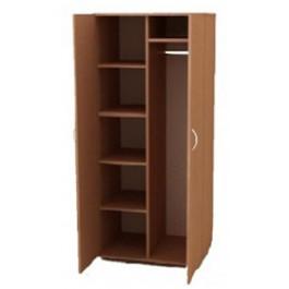 Ш-ДО2(к) Шкаф двухстворчатый для одежды комбинированный
