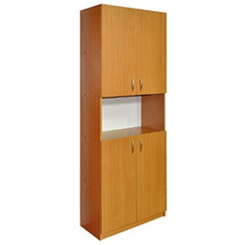 Шдо-6 шкаф для документов четырехдверный с нишей.