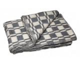 Одеяло байковое х/б меланжевое