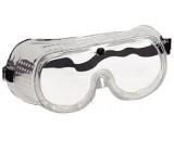 Защитные очки закрытого типа с прямой вентиляцией