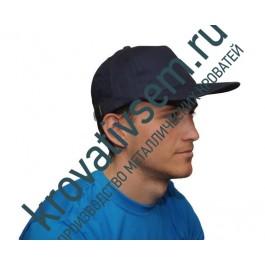 Бейсболка тёмно-синяя