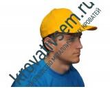 Бейсболка жёлтая