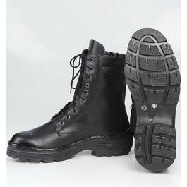 Ботинки юфть-кирза на искусственном меху